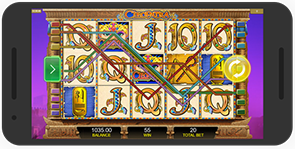 Play Cleopatra Slot on Nexus Phone