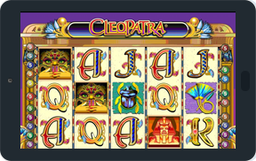 Play Cleopatra Slot on Android Tablet