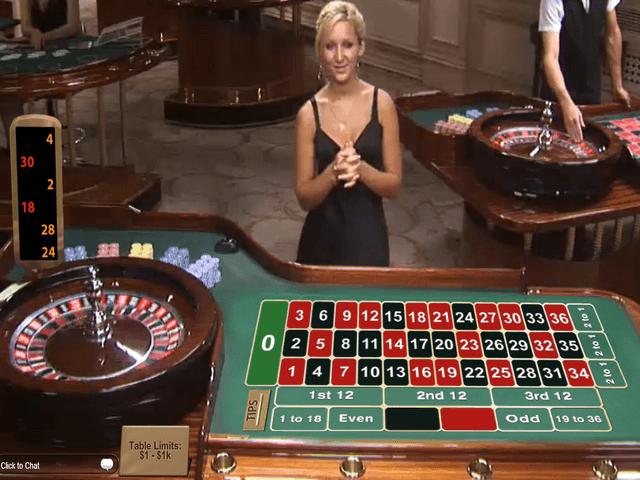 online roulette real dealer