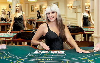 Live Dealer Baccarat Screenshot