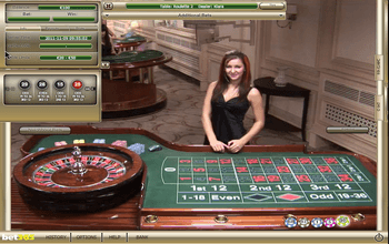 Live Dealer Roulette Screenshot