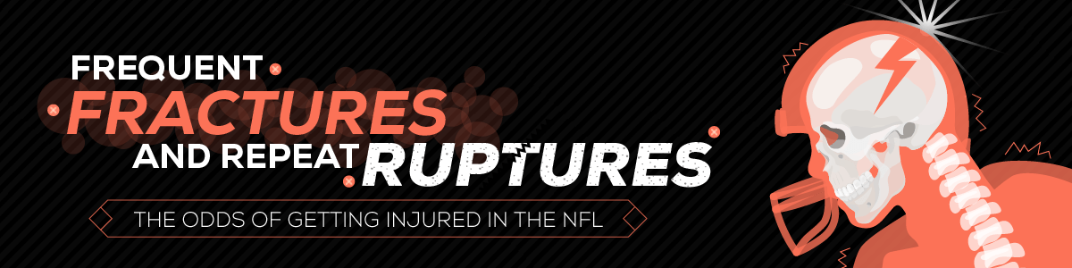 Frequent Fractures and Repeat Ruptures - The Odds of Getting Injured in the NFL