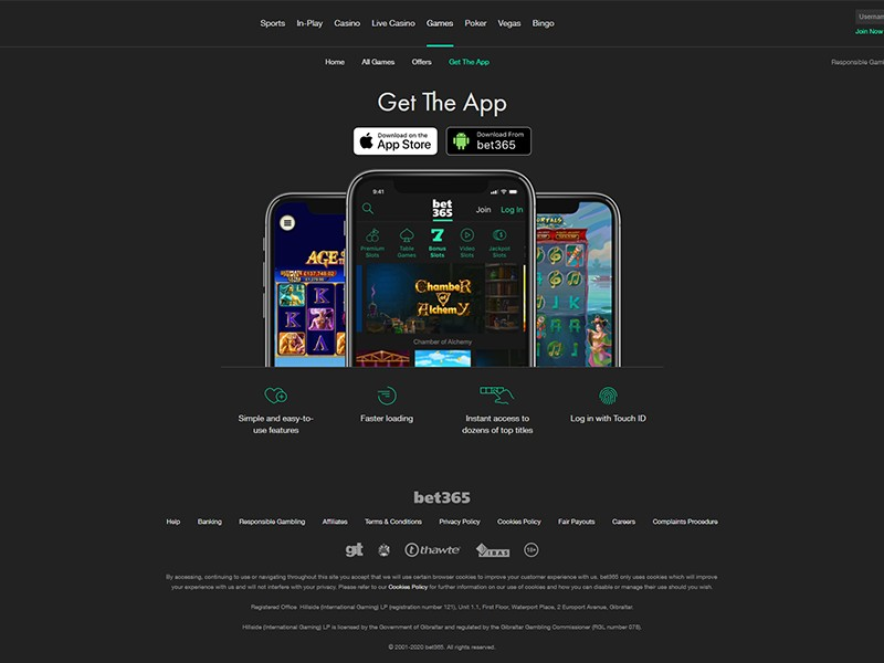 Bet365 Casino Reviews
