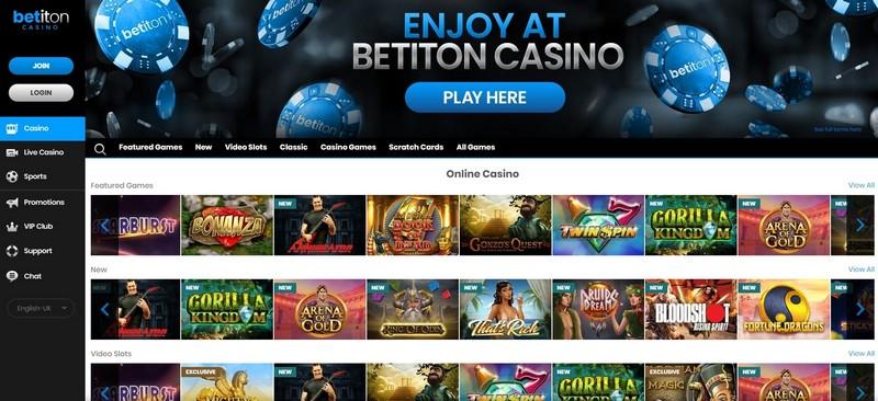 Betiton Casino Review Canada