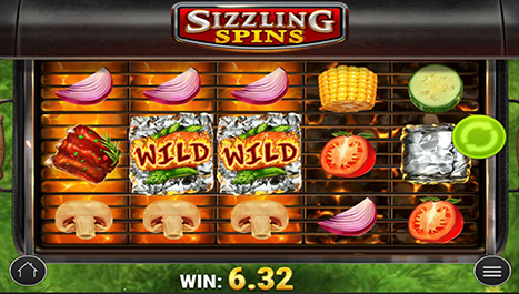 Sizzling Spins Main