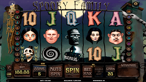 Spooky Family Main