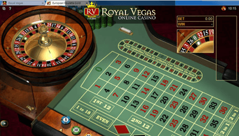 Royal Vegas Screenshot